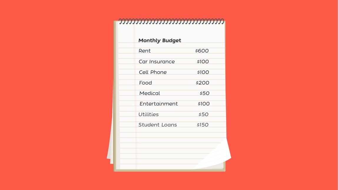 Monthly Budget Image